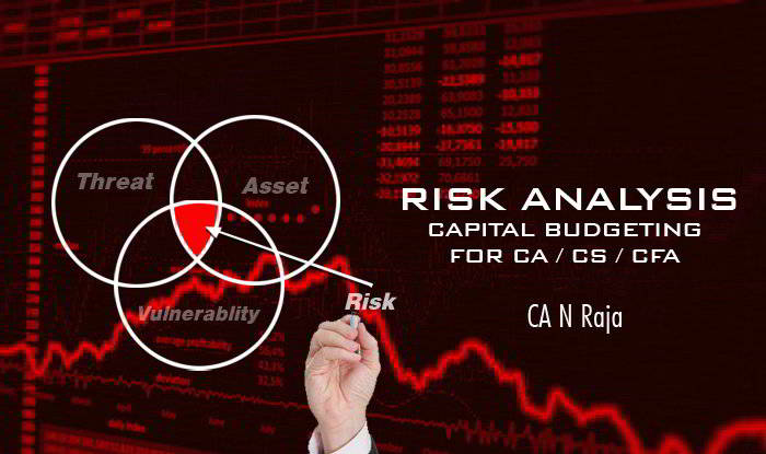 Risk Analysis - Capital Budgeting for CA / CS / CFA exams