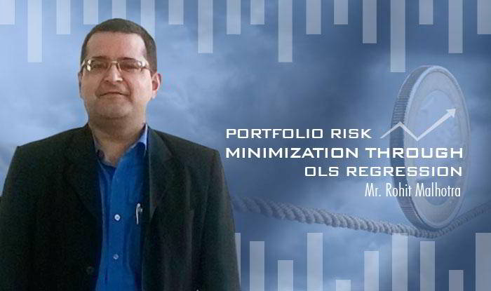 Portfolio Risk Minimization through OLS Regression