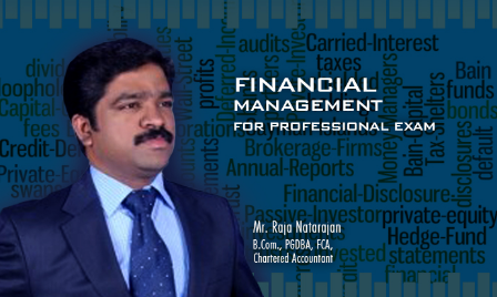 Financial Management for Professional Exams