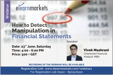 How to Detect Manipulation in Financial Statements