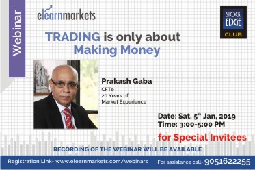 Trading is only about making Money