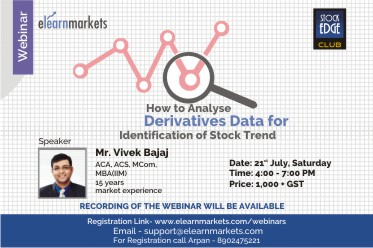 How to Analyse Derivatives Data for Identification of Stock Trend