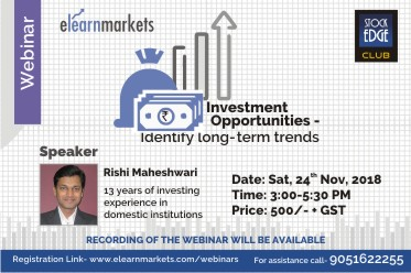 Investment Opportunities - Identify long-term trends